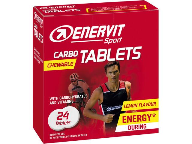 Enervit Sport Chewable Carbo Tablets 24 x 4g, Lemon